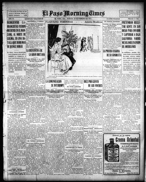 El Paso Morning Times (El Paso, Tex.), Vol. 35TH YEAR, Ed. 1, Saturday, February 20, 1915