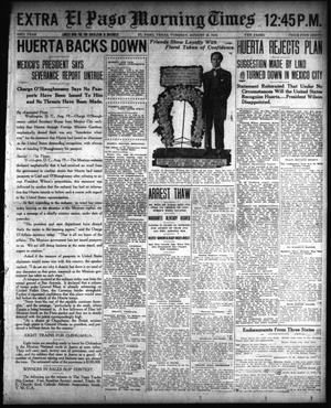 El Paso Morning Times (El Paso, Tex.), Vol. 33RD YEAR, Ed. 2, Tuesday, August 19, 1913