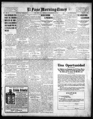 Primary view of object titled 'El Paso Morning Times (El Paso, Tex.), Vol. 35TH YEAR, Ed. 1, Saturday, February 27, 1915'.