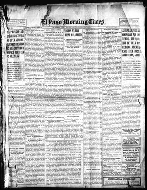 Primary view of object titled 'El Paso Morning Times (El Paso, Tex.), Vol. 35TH YEAR, Ed. 1, Monday, March 1, 1915'.
