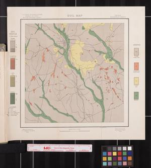 Primary view of object titled 'Soil map, Texas, Woodville sheet'.