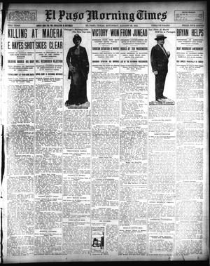 Primary view of object titled 'El Paso Morning Times (El Paso, Tex.), Vol. 33RD YEAR, Ed. 1, Saturday, August 23, 1913'.