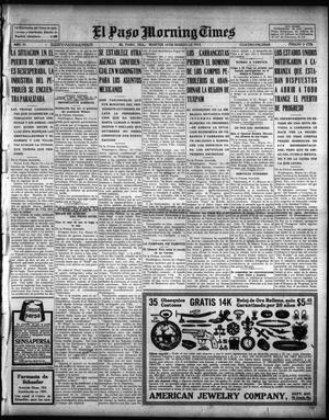 Primary view of object titled 'El Paso Morning Times (El Paso, Tex.), Vol. 35TH YEAR, Ed. 1, Tuesday, March 16, 1915'.