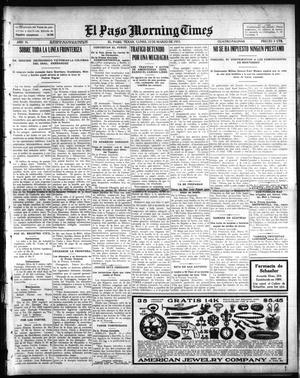 Primary view of object titled 'El Paso Morning Times (El Paso, Tex.), Vol. 35TH YEAR, Ed. 1, Monday, March 22, 1915'.