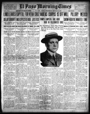 El Paso Morning Times (El Paso, Tex.), Vol. 34TH YEAR, Ed. 1, Wednesday, August 27, 1913