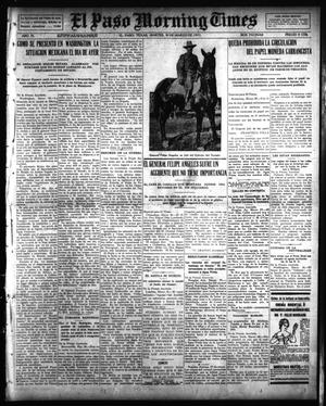 Primary view of object titled 'El Paso Morning Times (El Paso, Tex.), Vol. 35TH YEAR, Ed. 1, Tuesday, March 30, 1915'.
