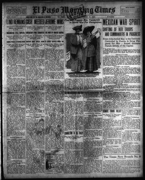 Primary view of object titled 'El Paso Morning Times (El Paso, Tex.), Vol. 34TH YEAR, Ed. 1, Sunday, August 31, 1913'.