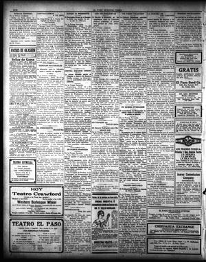 Primary view of El Paso Morning Times (El Paso, Tex.), Vol. 35TH YEAR, Ed. 1, Thursday, April 15, 1915