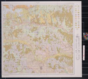 Primary view of object titled 'Soil map, Wheeler County, Texas'.