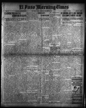 Primary view of object titled 'El Paso Morning Times (El Paso, Tex.), Vol. 35TH YEAR, Ed. 1, Thursday, April 29, 1915'.