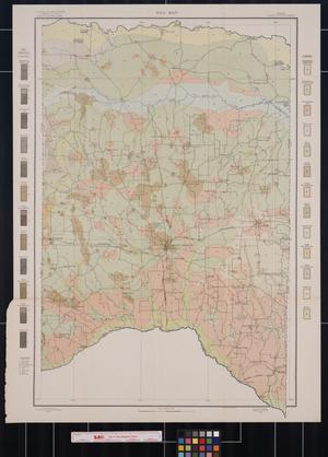 Primary view of object titled 'Soil Map, Texas, Titus County Sheet'.