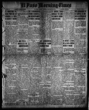 El Paso Morning Times (El Paso, Tex.), Vol. 35TH YEAR, Ed. 1, Friday, July 2, 1915
