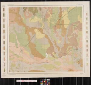 Primary view of object titled 'Soil map, Texas, San Antonio sheet'.