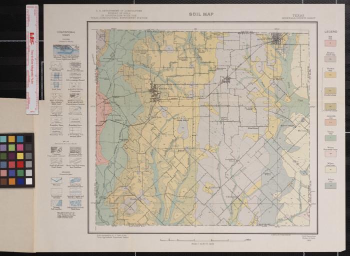 Soil Map Texas Rockwall County Sheet The Portal To Texas History