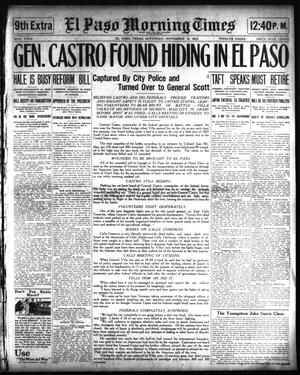 Primary view of object titled 'El Paso Morning Times (El Paso, Tex.), Vol. 34TH YEAR, Ed. 8, Saturday, November 15, 1913'.