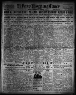 Primary view of object titled 'El Paso Morning Times (El Paso, Tex.), Vol. 34TH YEAR, Ed. 1, Monday, December 1, 1913'.