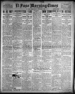 Primary view of object titled 'El Paso Morning Times (El Paso, Tex.), Vol. 34TH YEAR, Ed. 1, Friday, December 5, 1913'.