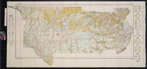 Primary view of object titled 'Soil Map, Reconnoissance Survey, South Central Texas Sheet'.