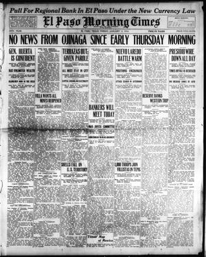 Primary view of El Paso Morning Times (El Paso, Tex.), Vol. 34TH YEAR, Ed. 1, Friday, January 2, 1914