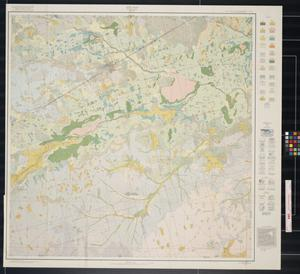 Primary view of object titled 'Soil map, Midland County, Texas'.