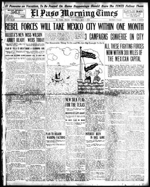 Primary view of object titled 'El Paso Morning Times (El Paso, Tex.), Vol. 34TH YEAR, Ed. 1, Thursday, May 7, 1914'.