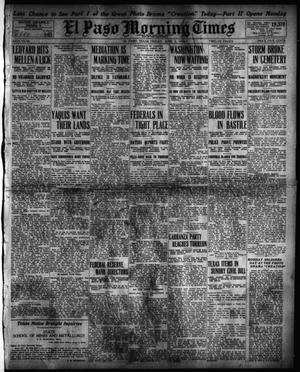 Primary view of object titled 'El Paso Morning Times (El Paso, Tex.), Vol. 34TH YEAR, Ed. 1, Friday, June 5, 1914'.