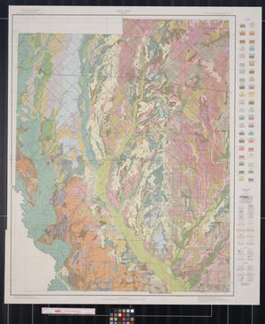 Primary view of object titled 'Soil map, Kaufman County, Texas'.