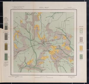 Primary view of object titled 'Soil map, Texas, Jacksonville sheet'.