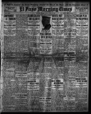 Primary view of object titled 'El Paso Morning Times (El Paso, Tex.), Vol. 34TH YEAR, Ed. 1, Sunday, July 12, 1914'.