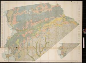 Soil map, Texas, Houston County sheet