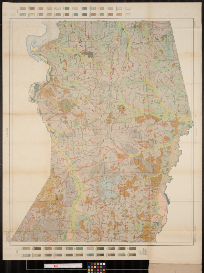 Soil Map Texas Harrison County Sheet The Portal To Texas History - Maptexas