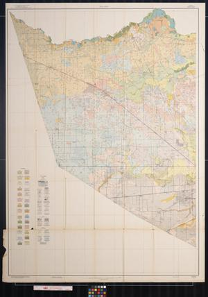Primary view of object titled 'Soil map, Texas, Harris County, western sheet'.