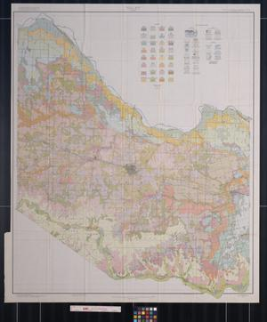 Primary view of object titled 'Soil map, Hardeman County, Texas'.