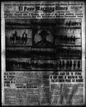 Primary view of object titled 'El Paso Morning Times (El Paso, Tex.), Vol. 35TH YEAR, Ed. 1, Thursday, October 8, 1914'.