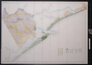 Primary view of object titled 'Soil map, Galveston County, Texas'.