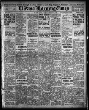 Primary view of object titled 'El Paso Morning Times (El Paso, Tex.), Vol. 35TH YEAR, Ed. 1, Thursday, February 11, 1915'.