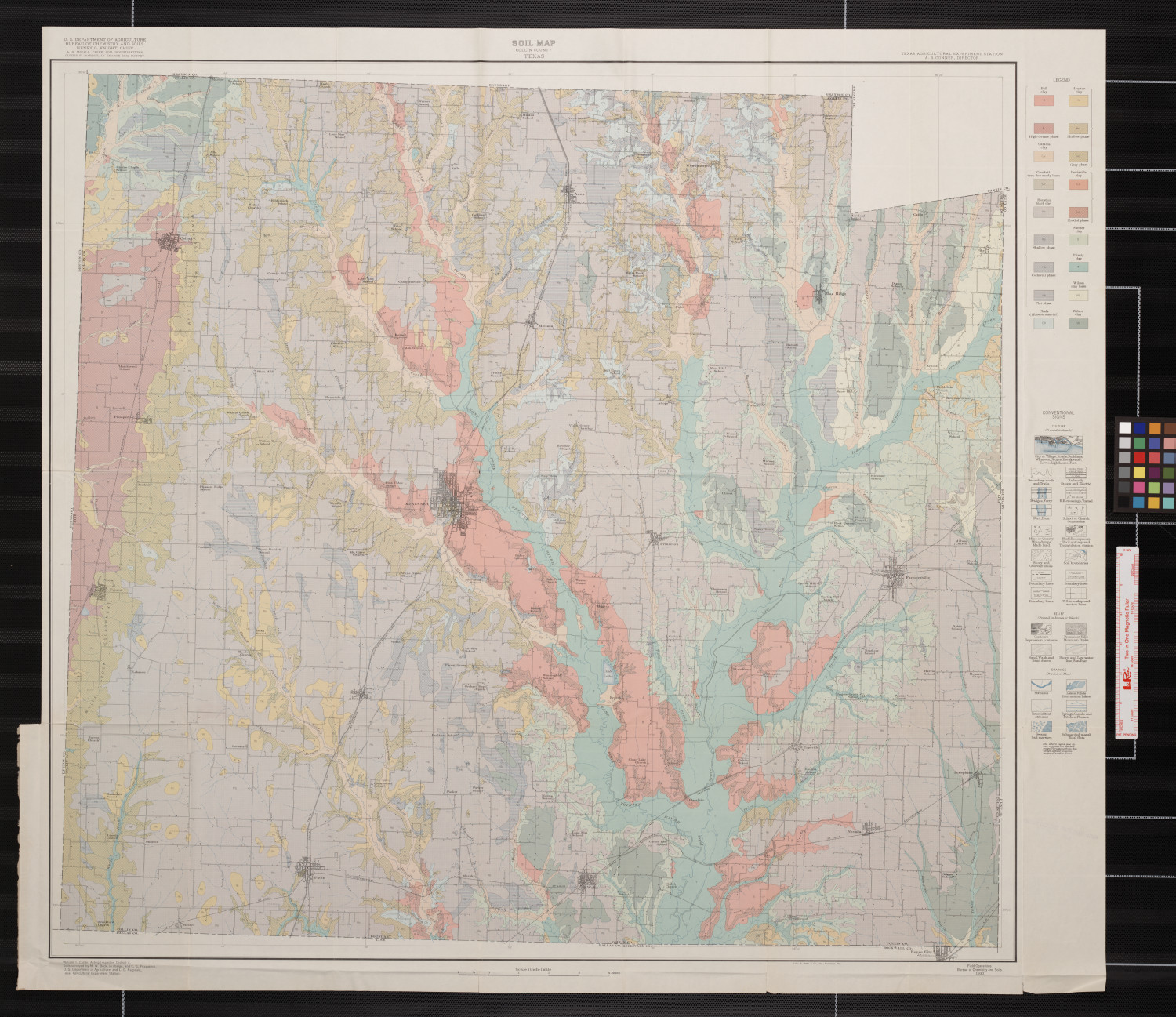 Soil map, Collin County, Texas                                                                                                      [Sequence #]: 1 of 1