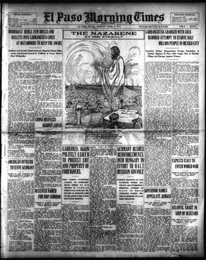 Primary view of object titled 'El Paso Morning Times (El Paso, Tex.), Vol. 35TH YEAR, Ed. 1, Sunday, April 4, 1915'.