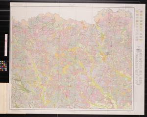 Primary view of object titled 'Soil map, Cass County, Texas'.