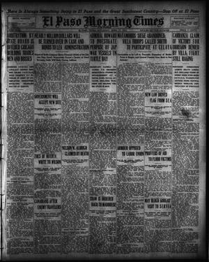 Primary view of object titled 'El Paso Morning Times (El Paso, Tex.), Vol. 35TH YEAR, Ed. 1, Saturday, April 17, 1915'.
