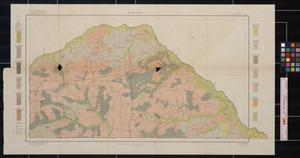 Primary view of object titled 'Soil map, Texas, Camp County sheet'.