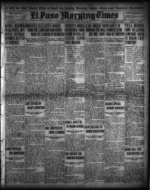 Primary view of object titled 'El Paso Morning Times (El Paso, Tex.), Vol. 35TH YEAR, Ed. 1, Saturday, April 24, 1915'.