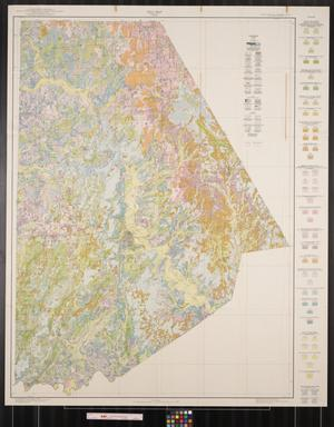 Soil map, Brown County, Texas