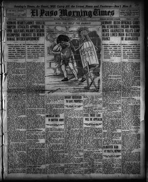 Primary view of object titled 'El Paso Morning Times (El Paso, Tex.), Vol. 35TH YEAR, Ed. 1, Saturday, June 5, 1915'.
