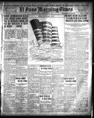 Primary view of object titled 'El Paso Morning Times (El Paso, Tex.), Vol. 35TH YEAR, Ed. 1, Monday, June 14, 1915'.
