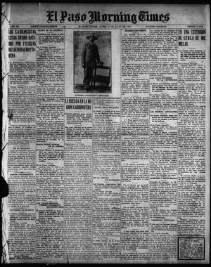 Primary view of object titled 'El Paso Morning Times (El Paso, Tex.), Vol. 35TH YEAR, Ed. 1, Monday, July 19, 1915'.