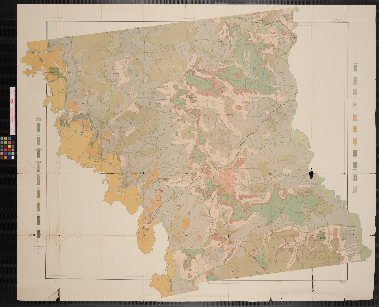 Soil map, Texas, Anderson County sheet                                                                                                      [Sequence #]: 1 of 1