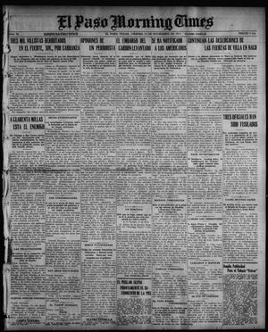 El Paso Morning Times (El Paso, Tex.), Vol. 36TH YEAR, Ed. 1, Friday, November 12, 1915