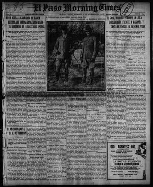 Primary view of object titled 'El Paso Morning Times (El Paso, Tex.), Vol. 36TH YEAR, Ed. 1, Sunday, November 21, 1915'.