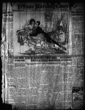 Primary view of object titled 'El Paso Morning Times (El Paso, Tex.), Vol. 36TH YEAR, Ed. 1, Saturday, January 1, 1916'.